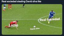 Meme Lazio Ditinggal David Silva Saat Lagi Ngarep-ngarepnya