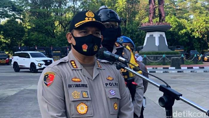 Kapolresta Solo Kombes Ade Safri Simanjuntak, Lapangan Manahan, Solo, Selasa (18/8/2020).