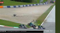 Terguncangnya Rossi dengan Kecelakaan MotoGP Austria: Aku Sangat Takut