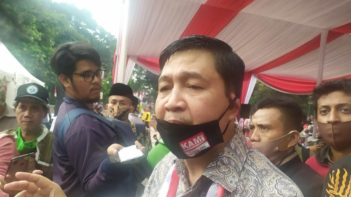 Ketua Komite Eksekutif KAMI Ahmad Yani