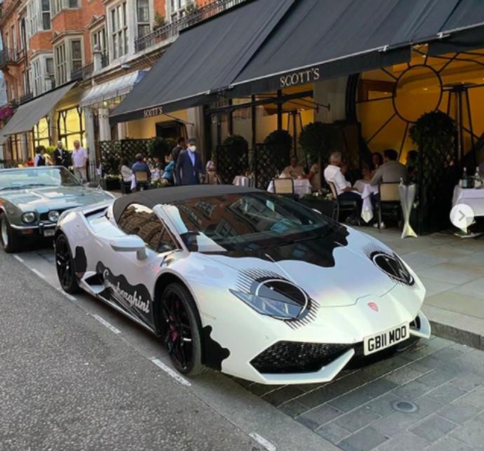 Modifikasi Lamborghini Cowborghini