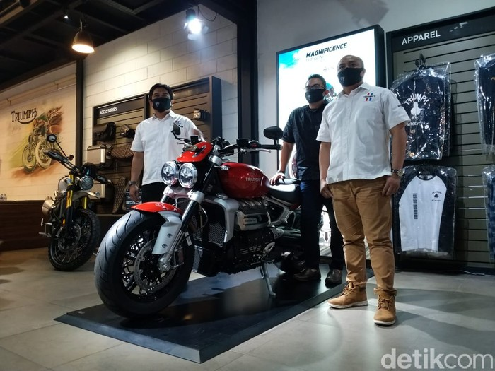 Motor Baru Triumph Meluncur di Indonesia