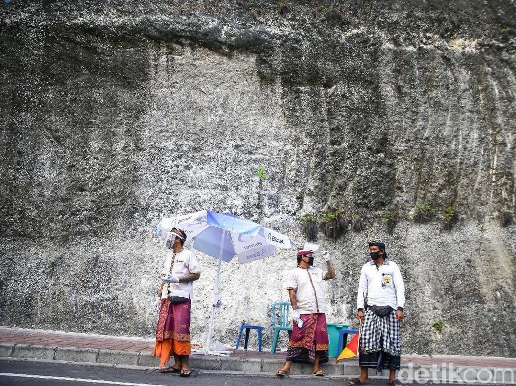 Keadaan Terkini Pantai Melasti Bali di Masa Pandemi
