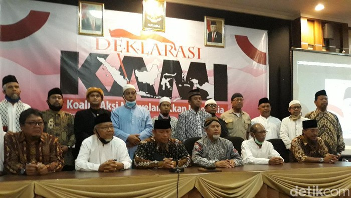 Perwakilan warga Solo dan sekitarnya mendeklarasikan Koalisi Aksi Menyelamatkan Indonesia (KAMI), Selasa (18/8/2020).