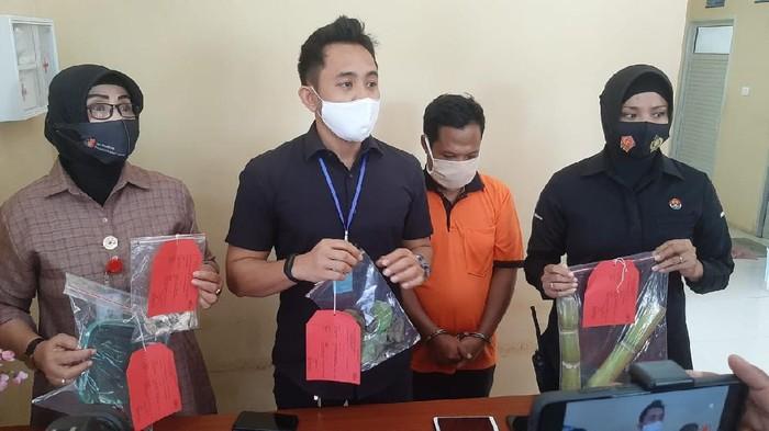Polisi mengamankan pelaku pencabulan di Lombok