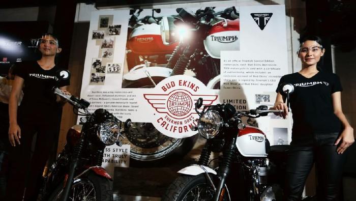 Triumph Bonneville T100 Bud Ekins dan Bonneville T120 Bud Ekins
