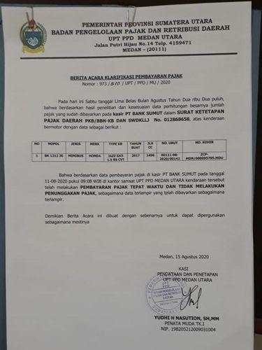 2 YouTuber Medan jadi tersangka akibat tudingan 'polisi nunggak pajak' (dok. Istimewa)