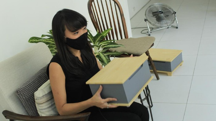 Alat disinfeksi virus dan kuman yang dikembangkan pemuda di Bandung.