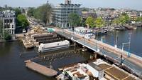 Sejumlah retakan dan lubang mulai bermunculan di sepanjang kanal yang menjadi ciri khas Amsterdam (Gemeente Amsterdam)