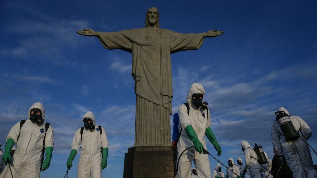 Setiap 50 Detik Ada 1 Kematian di Brasil