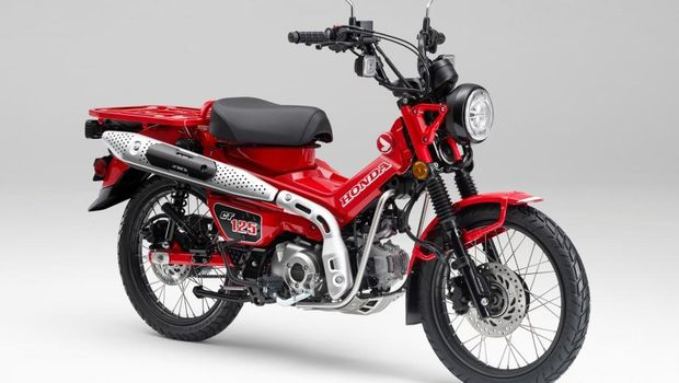 Astra Honda Motor meluncurkan CT125 pada 19 Agustus 2020 dengan harga Rp75 juta.