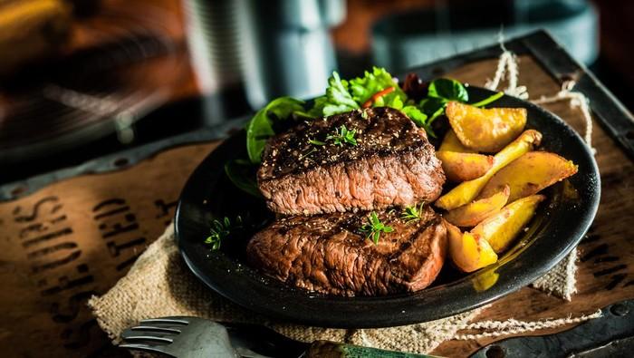 Ilustrasi Steak