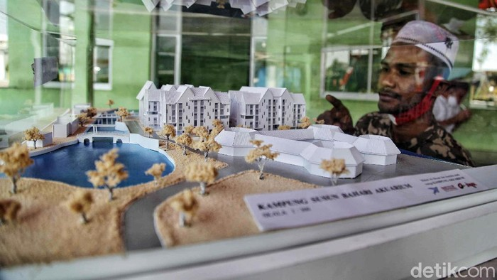 Gubernur DKI Jakarta Anies Baswedan kembali membangun Kampung Susun Akuarium di Penjaringan, Jakut. Ini lokasi untuk pembangunan Rusun Kampung Akuarium.