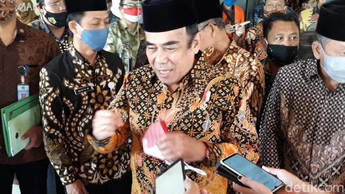Menag Fachrul Razi di Solo, Rabu (19/8/2020).