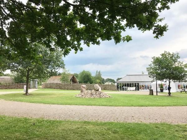 Lingkungan yang bersih dimuseum HunebedBelanda.