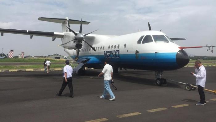 Pesawat N250 Gatotkaca Karya Habibie Kebanggaan RI Akan Dimuseumkan