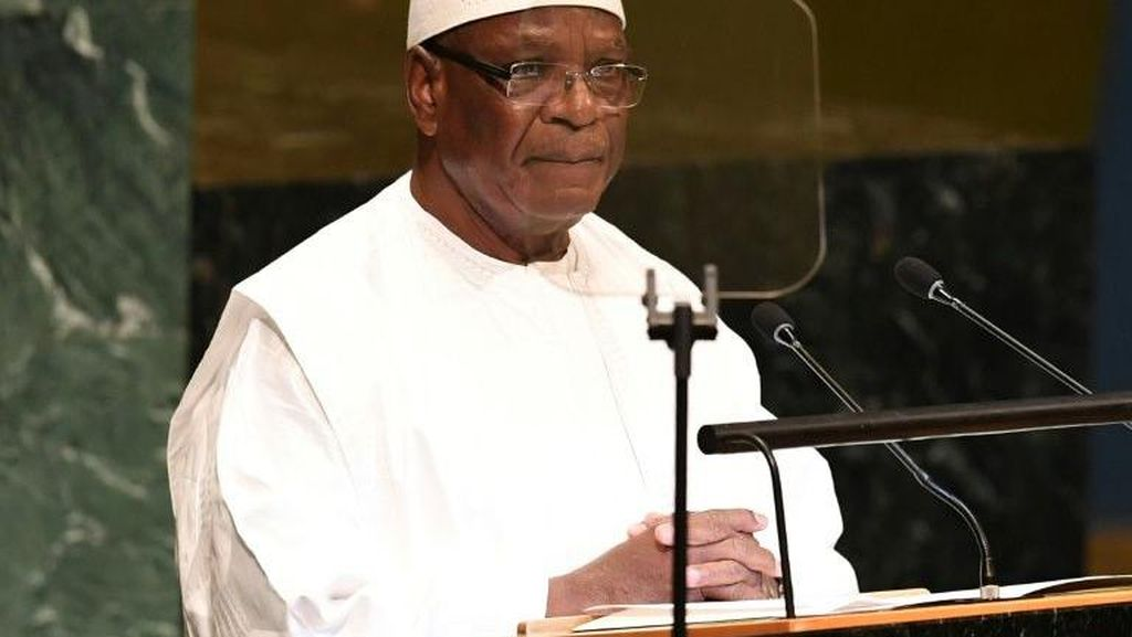Presiden Mali Mundur Usai Disandera Pasukan Pemberontak