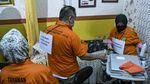 Foto-foto Rekonstruksi Praktik Aborsi Ilegal di Jakpus