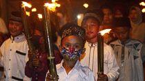 Semarak Tahun Baru Islam lewat Pawai Obor