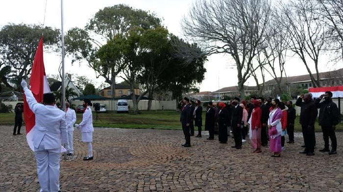 Upacara peringatan HUT RI di KJRI Cape Town