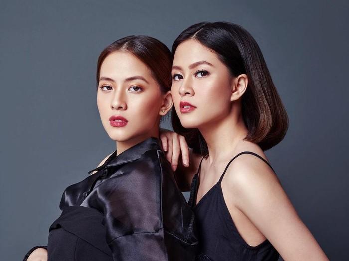 Adhisty Zara dan kakaknya Hasyakyla Utami