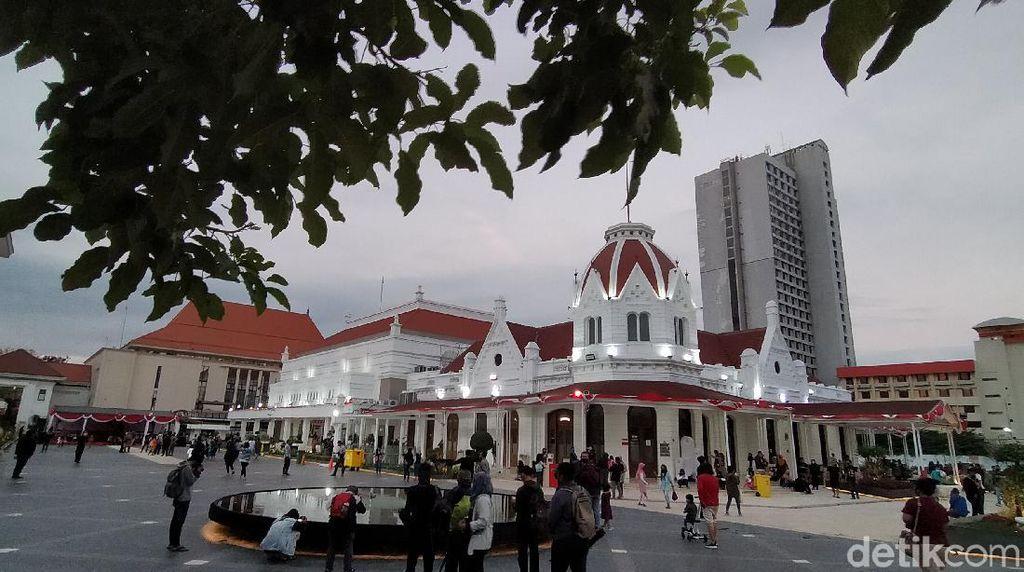Pengunjung Alun-alun Suroboyo Akan Dibatasi Cegah Kerumunan