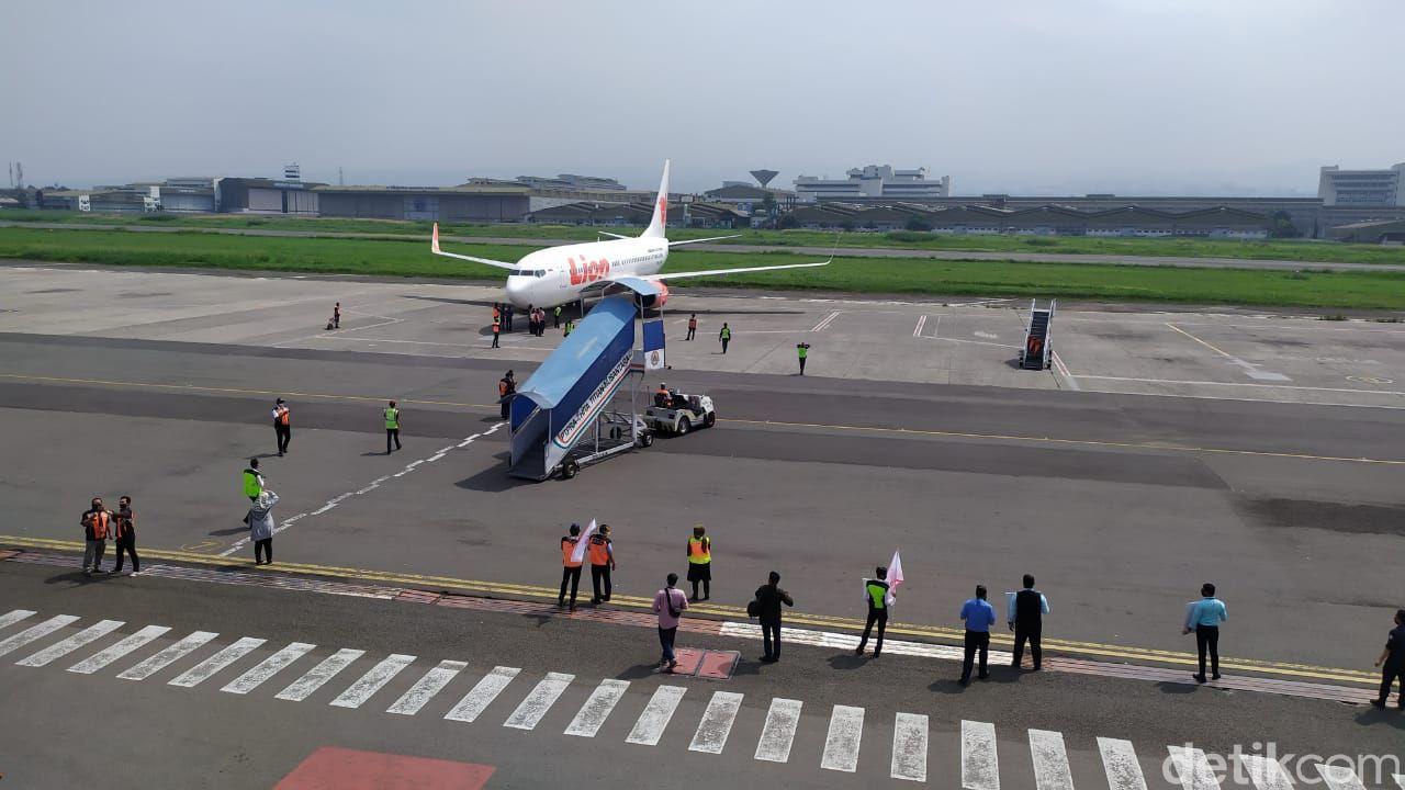 Bandara di Bandung yang kembali melayani rute pesawat.