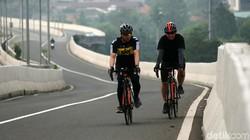 Diusulkan Bisa Gowes di Tol, Anak Road Bike Takut Oleng Dihempas Angin