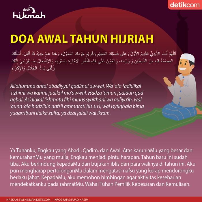 doa awal tahun baru Hijriah