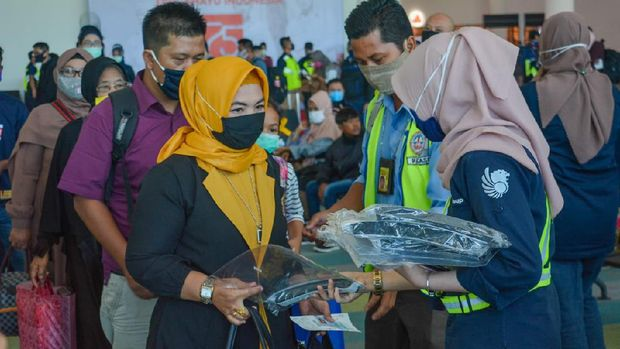 Kampanye safe travel Lion Group di Kalimantan.