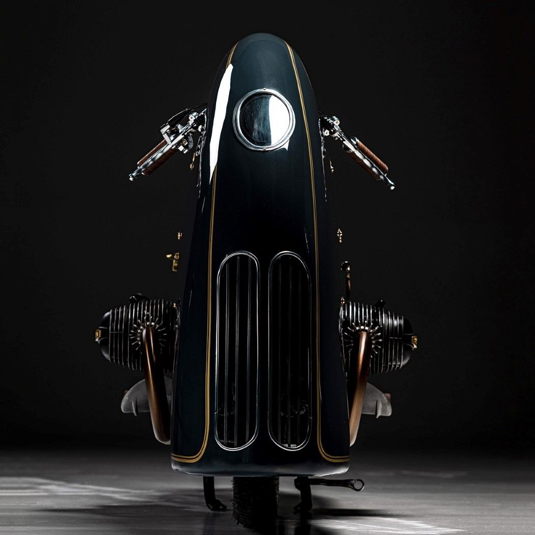 Modifikasi BMW R100 Good Ghost