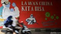 Update Corona Indonesia 22 Oktober: Tambah 4.432, Positif 377.541