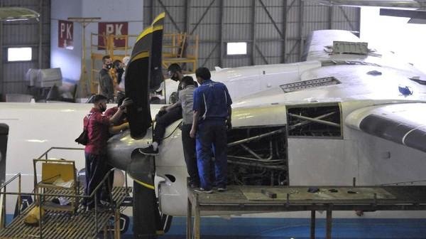 Pesawat tersebut akan dikirimkan ke Museum menggunakan jalur darat. Proses penerimaan akan dilakukan pada 25 Agustus 2020 dengan dihadiri oleh Panglima TNI, Kepala Staf Angkatan Udara, Direktur Utama PTDI beserta pejabat PTDI dan TNI AU(dok PT DI)