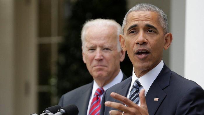 Pilpres AS: Barack Obama tuding Donald Trump bikin reality show di Gedung Putih