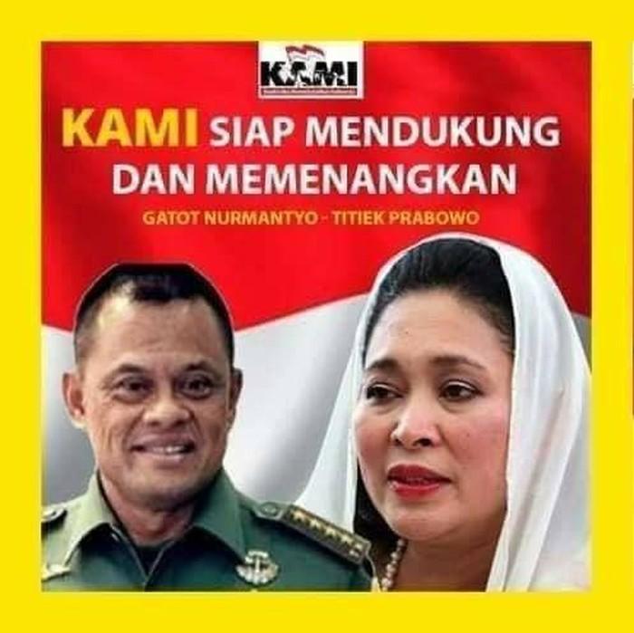 Poster yang beredar di media sosial