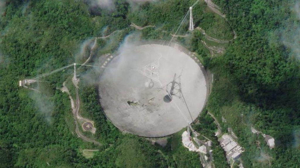 Rusak Misterius, Teleskop Raksasa Pemburu Alien Ditutup Permanen