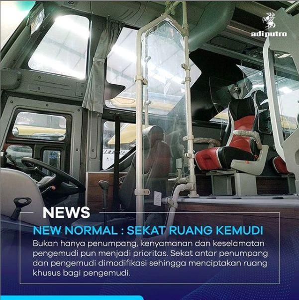 Bus Physical Distancing Adiputro