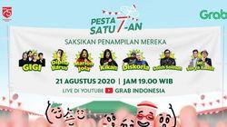 6,5 Juta Masyarakat Indonesia Panjat Pinang Virtual di Aplikasi Grab
