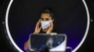 Foto: Aksi Para Finalis Kontes Kecantikan Berlomba di Tengah Pandemi Corona