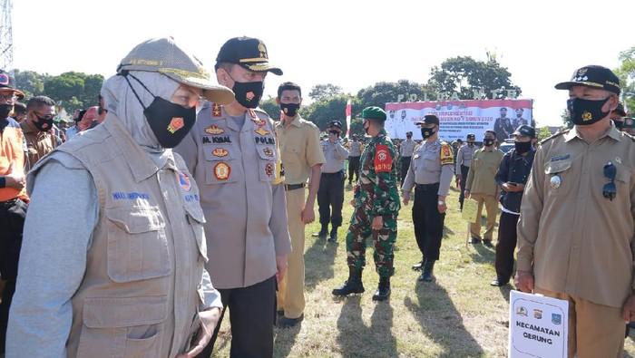 TNI-Polri dan Lurah Bintaro di NTB diganjar penghargaan soal penanganan Corona