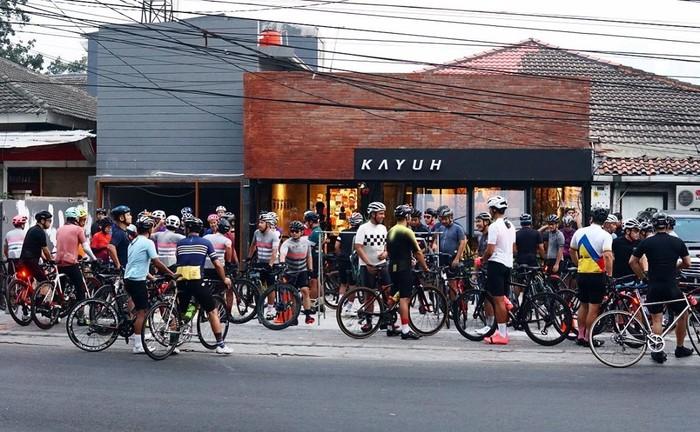 Kafe bertema sepeda di Jakarta