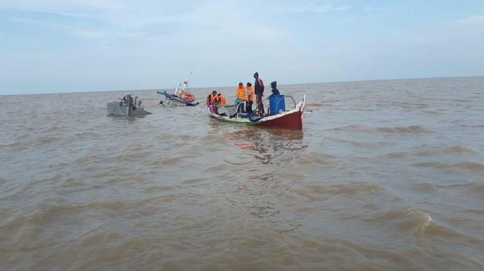 Kapal pengangkut kelapa tenggelam, jambi, kapal tenggelam