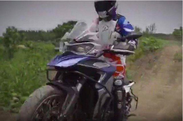 Motor Petualang Benelli TRK 800