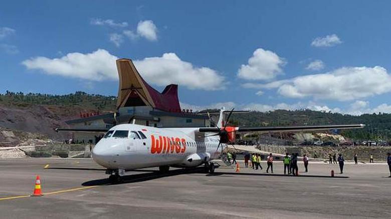 Wings Air mendarat di Tana Toraja