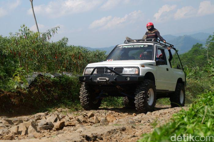 Wisata ngopi on the jeep di Banjarnegara