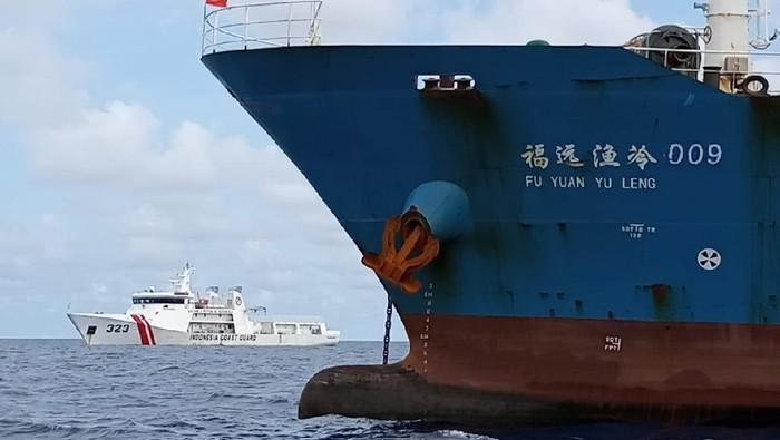 Bakamla Periksa Kapal China di Natuna