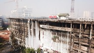 Kondisi Gedung Kejagung yang 11 Jam Dilahap Api