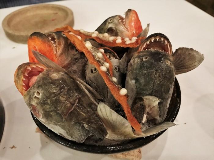 Hidangan Dari Ikan Piranha
