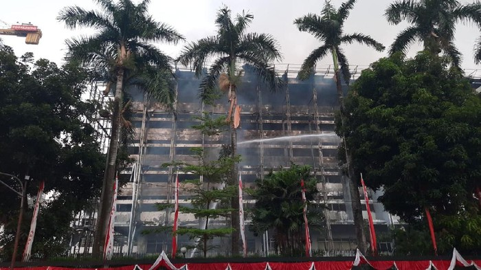 Kondisi Terkini Kebakaran Gedung Kejaksaan Agung