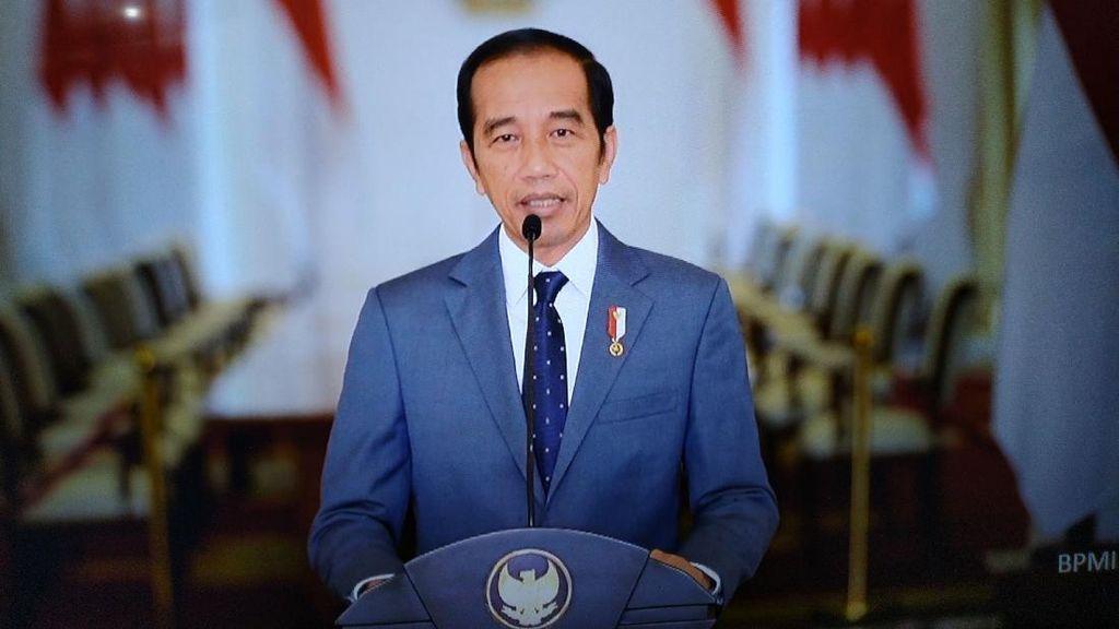 Jokowi Bicara Soal Pandemi-Merdeka Belajar di Dies Natalis UNPAD